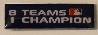 2005 Mlb 8 Teams 1 Champion Playoffs Pin World Series Chicago White Sox New
