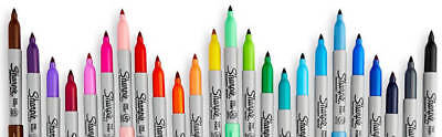 Sharpie One Pen Or 28 Pack Permanent Markers Colours Fine Ultra Fine Point Tip