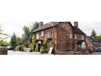 Bar/waiting staff - Dysart Arms, Bunbury (nr Tarporley)