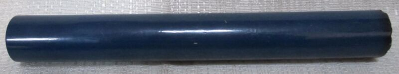 "Bakelite Catalin rod 3/4"" by 8-1/2"" opaque solid Blue 105 gr Katalin USA"