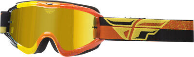 FLY RACING 2018 ZONE COMPOSITE MX Off-ROAD MX GOGGLES YELLOW/ORG W/ GOLD LENS