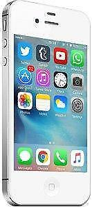 iPhone 4S 8 GB White Unlocked -- 30-day warranty, blacklist guarantee, delivered to your door