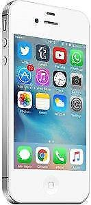 iPhone 4S 16 GB White Unlocked -- 30-day warranty, blacklist guarantee, delivered to your door
