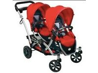 DOUBLE PUSH CHAIR/ BUGGY