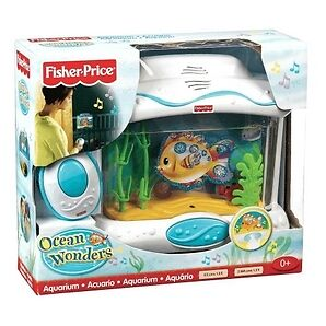 Fisher Price Ocean Wonders Aquarium Soother Music Lights ...