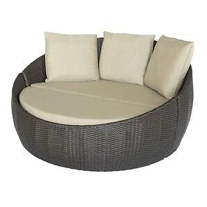GREAT DEAL !!!!! DAYBED WICKER CUSH/WITH BACK PILLOW 399.99