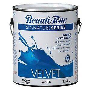 Beauti-tone velvet finish paint in Pier Pressure