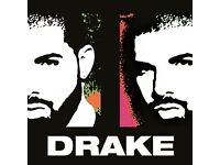 seated Drake tickets for sale x 4 / The SSE Hydro / 26th Jan