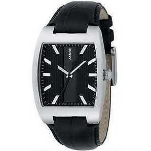 0ef012c2861 DKNY Leather Watch Strap