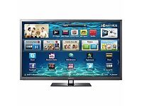 Samsung PS51E6500EU Plasma HD 1080p 3D TV, 51 Inch, Wi-Fi with Freeview HD slight fault but works