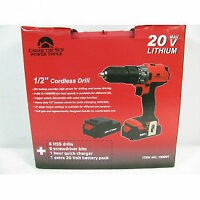 "Power Tools by Under The Sun 1/2"" Cordless Drill"