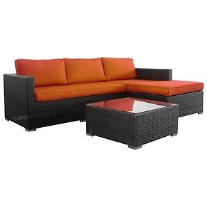 GREAT PRICE !!!!! SOFA SET WICKER MALIBU 3PC - 499.99