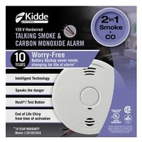 Kiddie Wired Smoke and Carbon Monoxide Detector