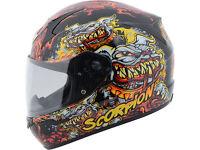 Scorpion Exo-410 Hellhound Helmet at Bikers Yard!