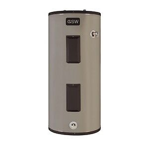 Electric water heater with installation