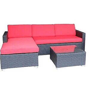 GREAT DEAL !!!!!!! L-SHAPE OUTDOOR SOFA SET - ONLY 499.97 !!!!!!