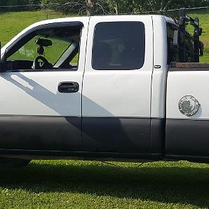 GMC sierra door
