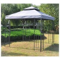 Spring is coming!  Metal-Frame Gazebo with extras