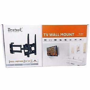 "BRATECK TV Wall Mount 32-55"" LED/LCD Heavy Duty Full Motion"