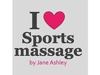 Qualified sports massage therapist