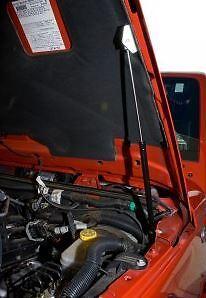Rugged Ridge - Cylindre de capot  72-06 Jeep CJ/Wrangler YJ/TJ