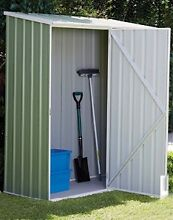 Space Saver GARDEN SHED 1.5m x 0.8m Green / Cream Pump Cover Hatton Vale Lockyer Valley Preview