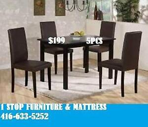 Dinning Kitchen Set With 4 Chairs On Sale For 199