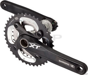 Shimano XT M785 10 Speed Double 170mm 28/40t Crankset with Bottom Bracket