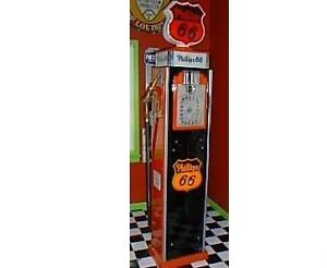 Rare gilbarco Clockface gas pump