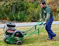 #  Landscaping Aeration Lawn Care Cleanup Power Raking