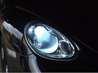XENON LIGHTS *BMW *MERC *AUDI*VW* FORD* XENONS HID CONVERSION SLIM KITS+ FITTED+LIFETIME WARRANTY++