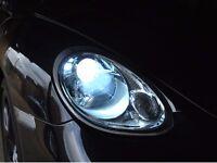 XENON LIGHTS *BMW *MERC *AUDI*VW* FORD* XENONS HID CONVERSION SLIM KITS+FITTED++LIFETIME WARRANTY++