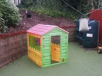 Child's Outdoor Playhouse
