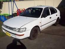1999 Toyota Corolla Hatchback Whitebridge Lake Macquarie Area Preview