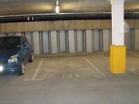 City Centre underground parking space available