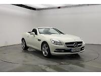 2012 (62) MERCEDES-BENZ SLK 1.8 SLK200 BLUEEFFICIENCY 2DR