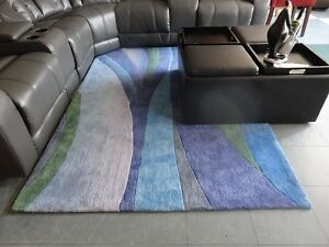 ALL-NEW: 5X7 hand-knotted area rugs, thick and luxurious with v