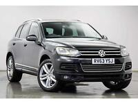 2013 VOLKSWAGEN TOUAREG V6 R-LINE TDI BLUEMOTION TECHNOLOGY ESTATE DIESEL