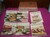 Chatelaine Cookbook HC & 6 pb booklets with recipes from women