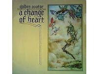 GOLDEN AVATAR~A CHANGE OF HEART~SD1~SUDARSHAN DISC~1976 UK VINYL LP.