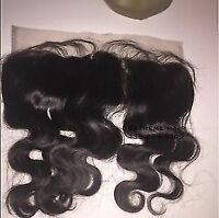 frontal lace closue in stock from 12`` -18 inch/ silk base etc