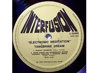 Tangerine Dream - Electronic Meditation - Rare New Zealand issue on Interfusion