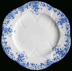 Dainty Blue - Perfect condition - Luncheon Plates
