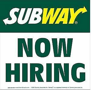 Subway sandwich artist, shift in charge Windsor Region Ontario image 1