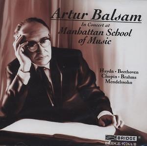 In Concert at the Manhattan School of Music (Baslam) CD NEU