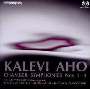 Kammersinfonien 1-3 / Chamber Symphonies  Kalevi Aho   Hybrid SACD Multi-ch