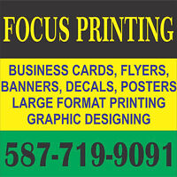 500 BUSINESS CARDS FROM $32.99 SAME DAY SERVICE**587-832-1903**