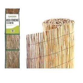 Reed Fencing 1 m X 4 meters * NEW* X 2 Rolls