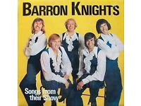 BARROW KNIGHTS songs from their show autograph By the 5 singers Lp Album