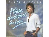 "9 Cliff Richard Various 7"" Record Collection"